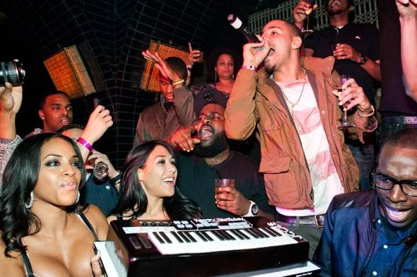 J. Cole celebrates his birthday at Lavo.