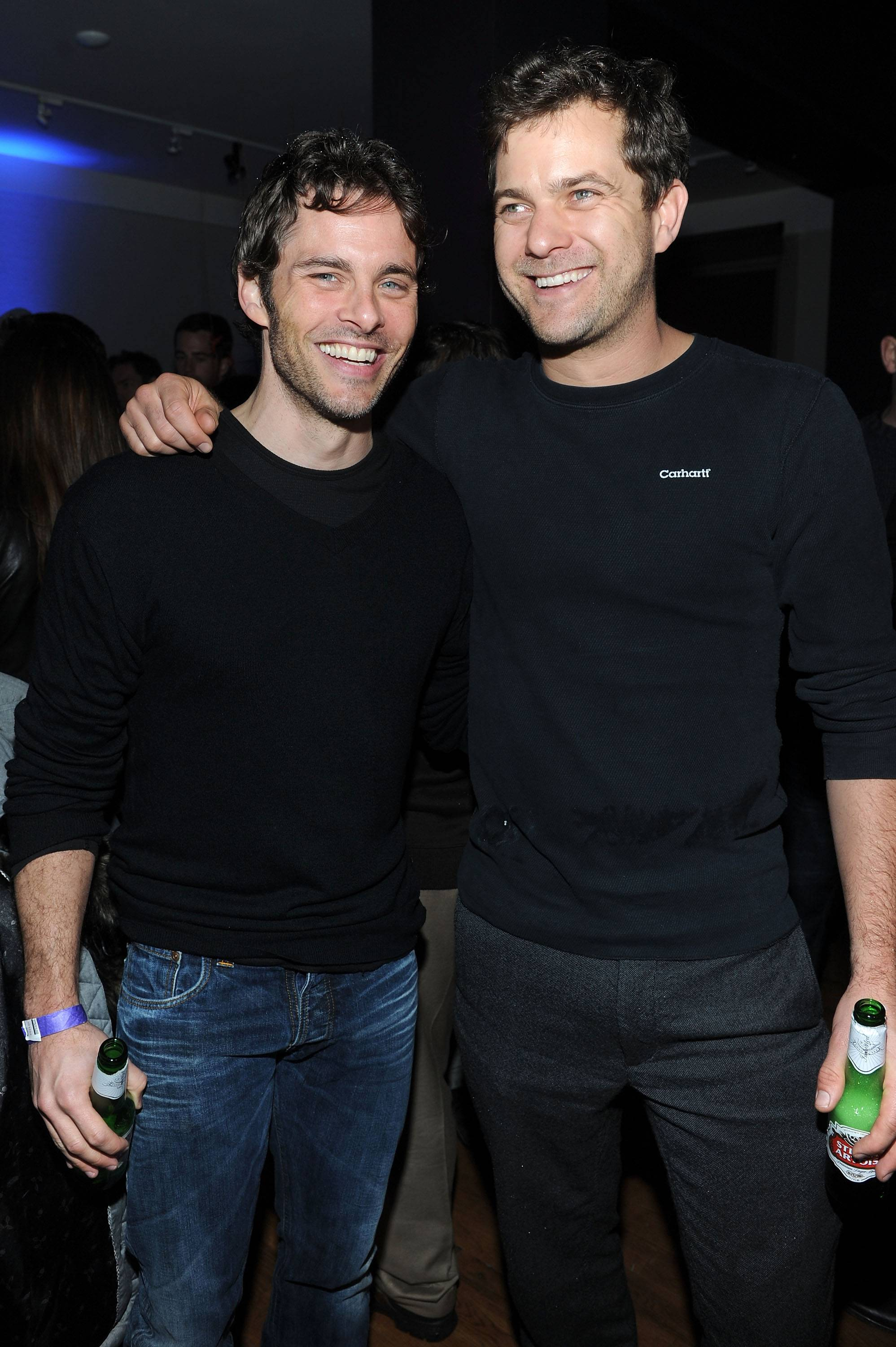 James Marsden and Joshua Jackson at