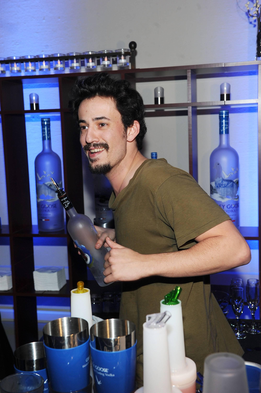 Josh Mond at the Simon Killer Dinner Party at the GREY GOOSE Blue Door at Sundance 1-21-12 (2)