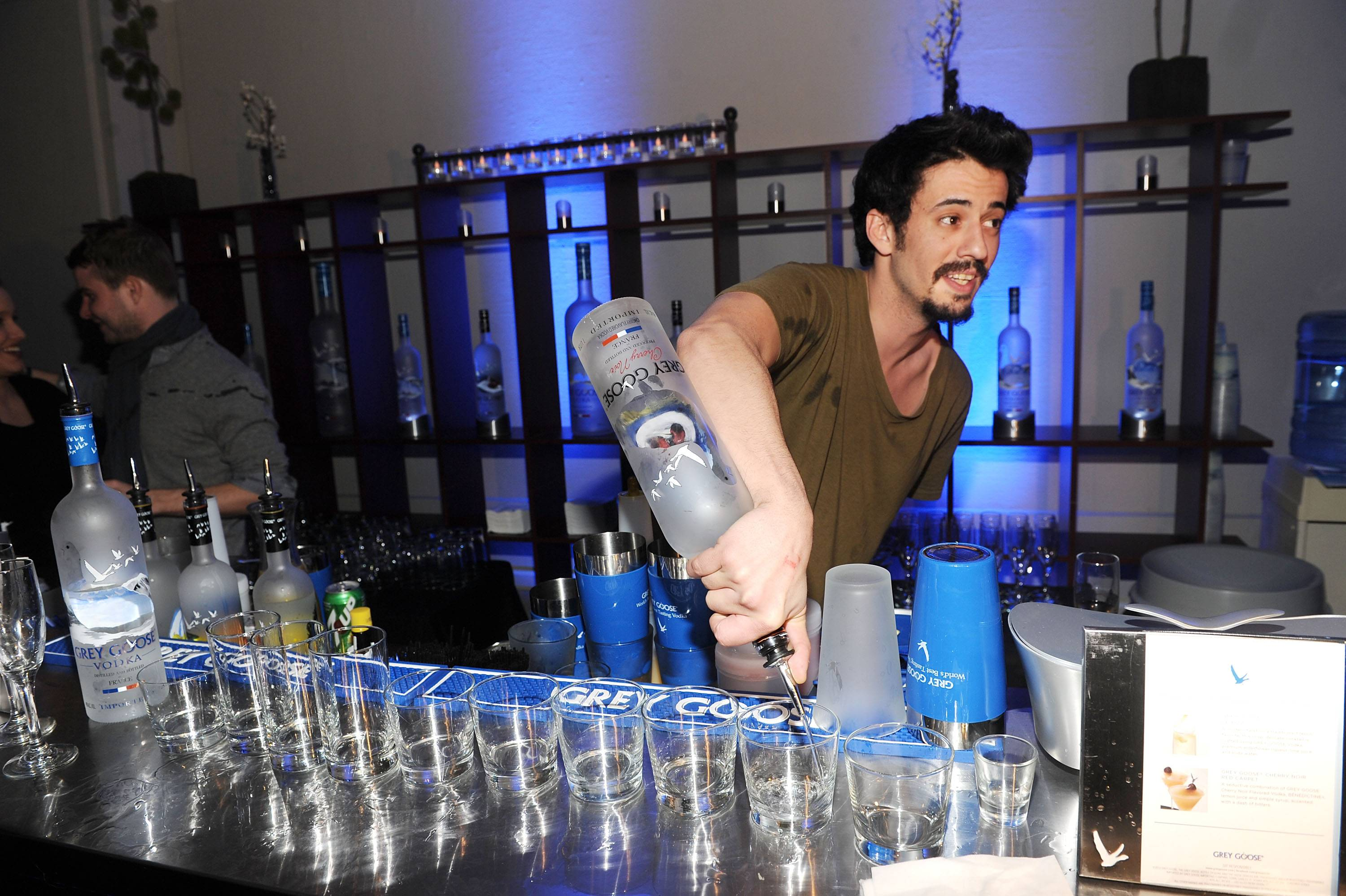 Josh Mond at the Simon Killer Dinner Party at the GREY GOOSE Blue Door at Sundance 1-21-12