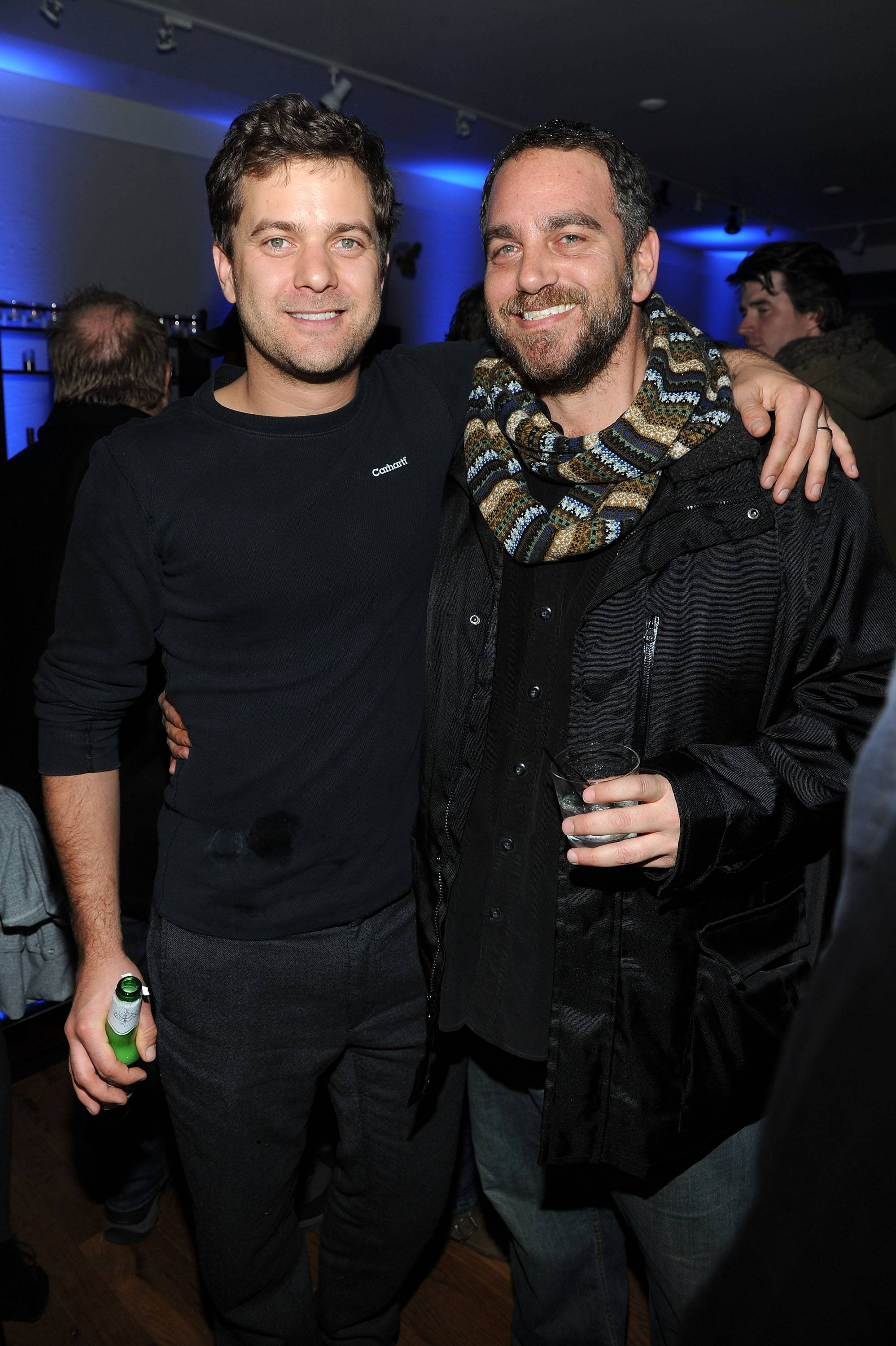 Joshua Jackson and Michael Sugar at