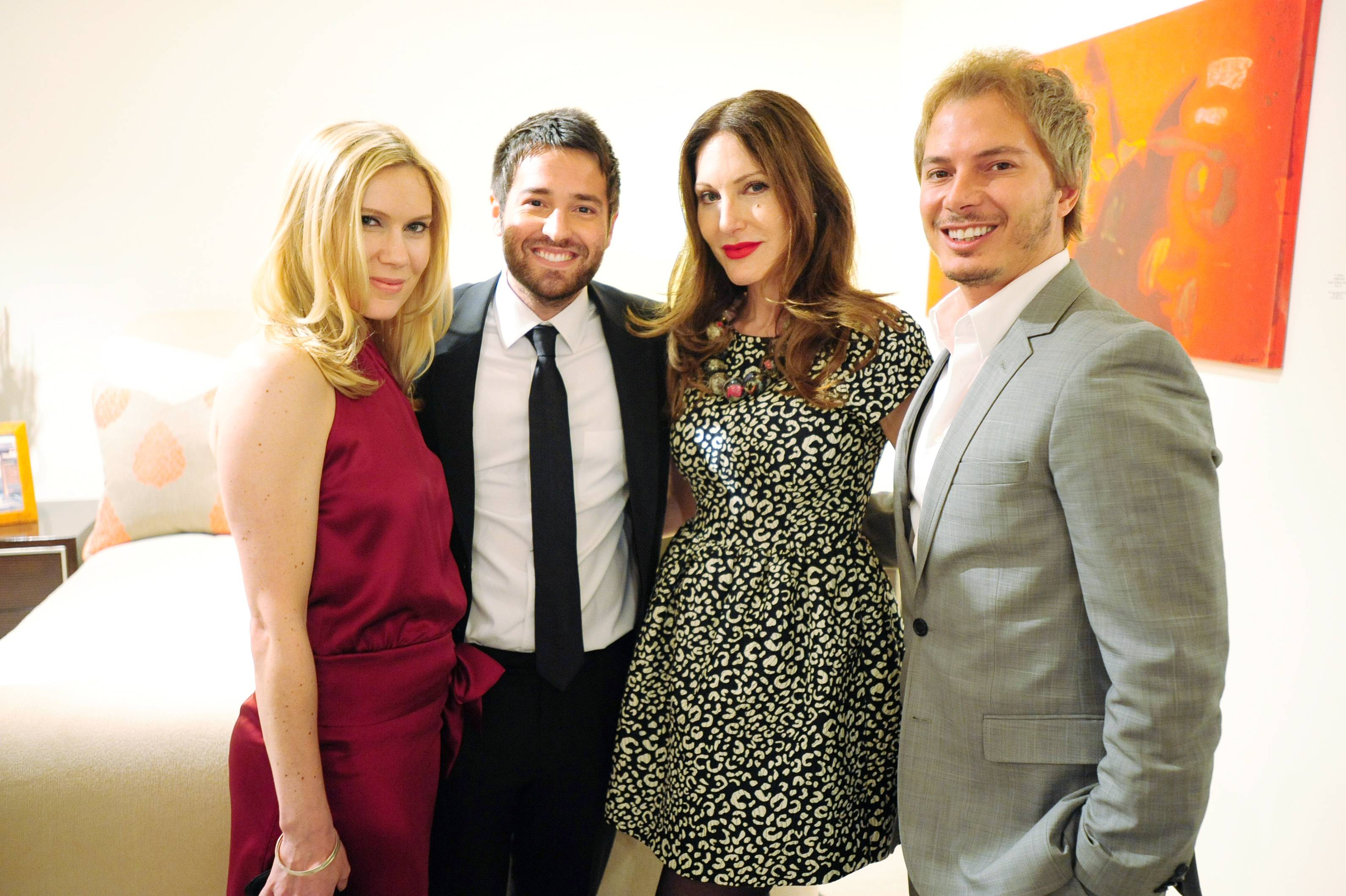 Kate & Loren Kreiss, Tara Solomon, & Nick D'Annunzio2