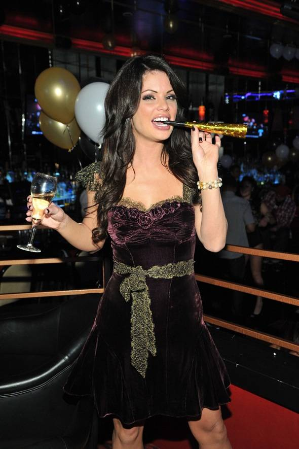 Laura Partying