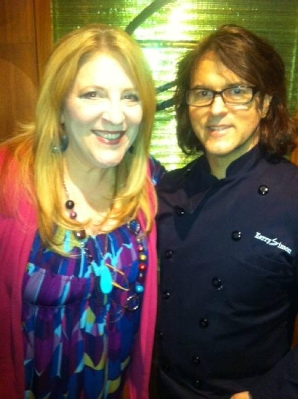 Lisa Lampanelli and Kerry Simon