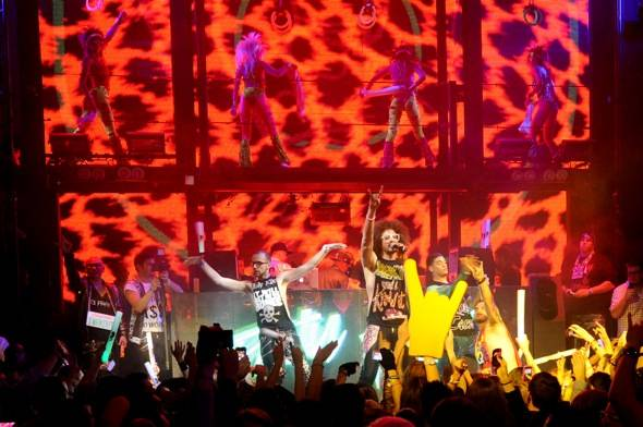 Marquee Redfoo Partyrock