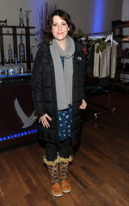 Melanie Lynskey at the GREY GOOSE Blue Door at Sundance on Friday 1-20-12