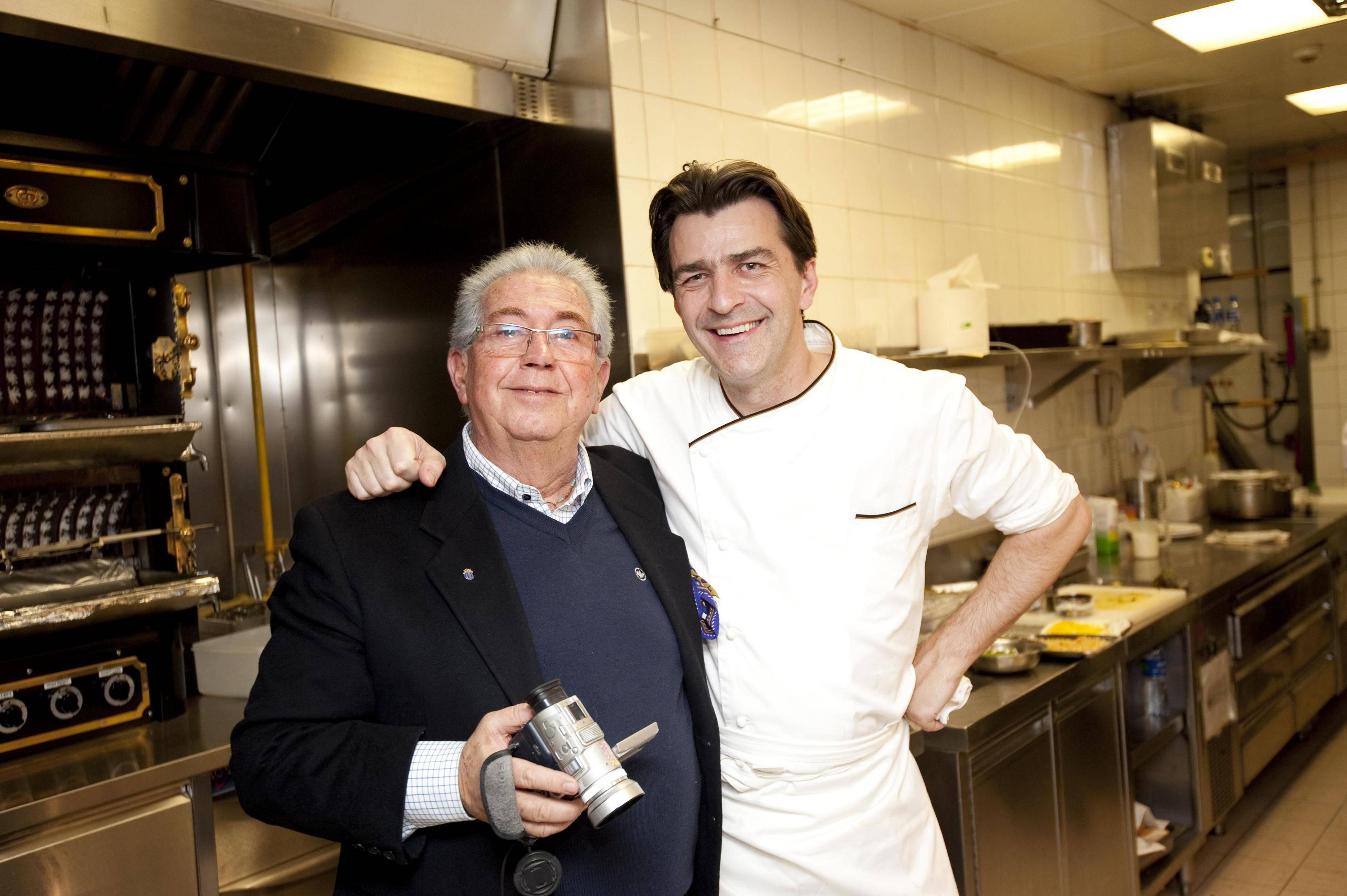 Mr.Jerry Bortolan and Chef Yannick