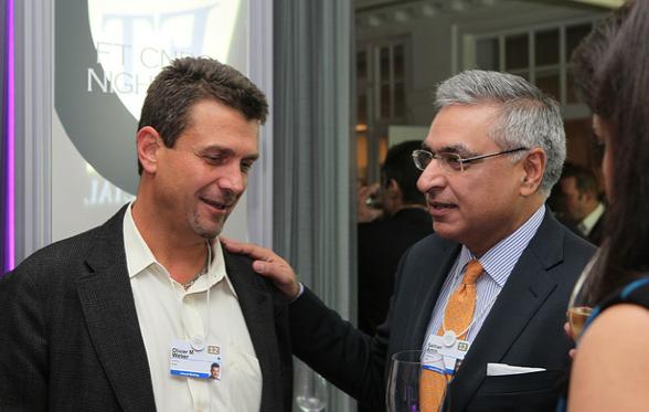 Olivier Weber and Salman Amin, PepsiCo