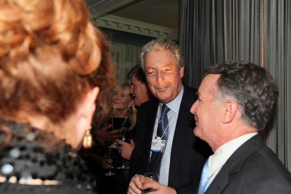 Michael Roth, Chairman, Interpublic group and John Veihmeyer, Chairman and CEO KPMG