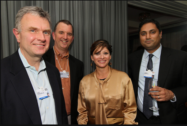 John Krenicki Jr, General Electric; James Healy, GE; Maria Bartiromo and Satpal Brainch, CNBC