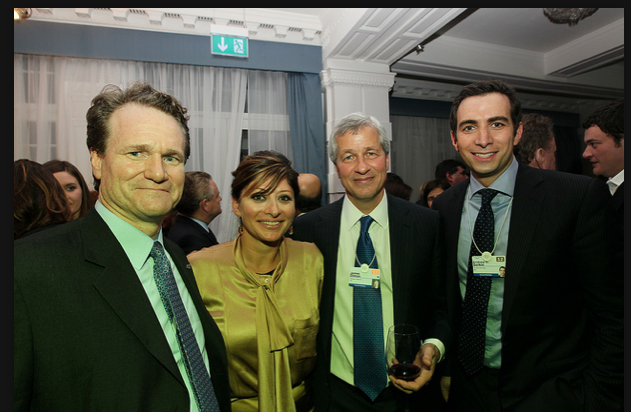 PBrian Moynihan, CEO, Bank of America; Maria Bartiromo; Jamie Dimon, Chairman and CEO, JPMorganChase and Andrew Ross Sorkin