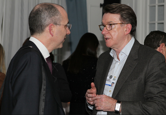 Peter Mandelson and James Benett 01b81efd0