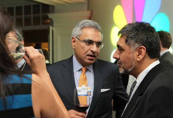 Salman Amin, PepsiCo and James Caan