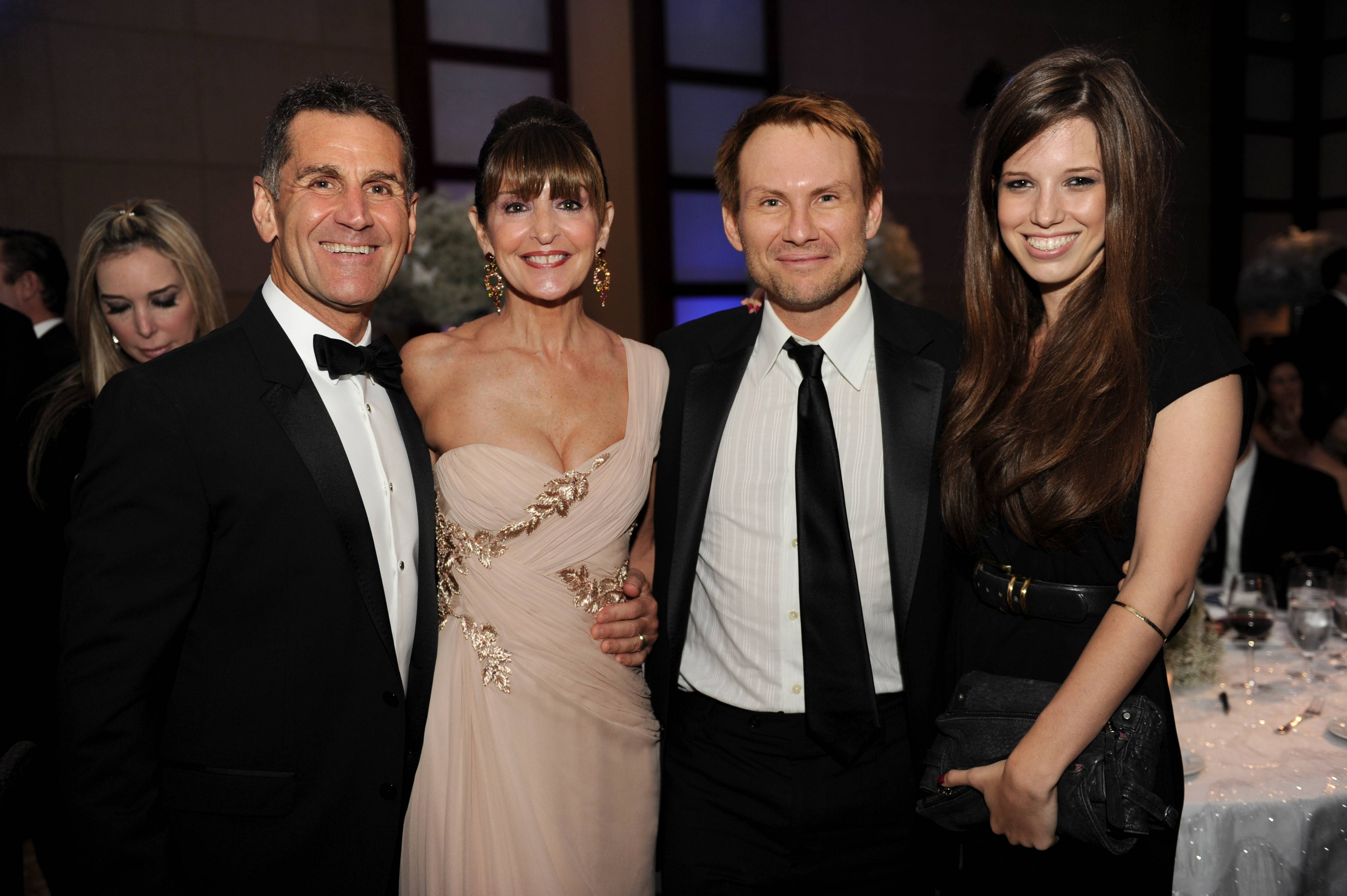 Richard & Beth Tasca, Christian Slater & Brittany Lopez