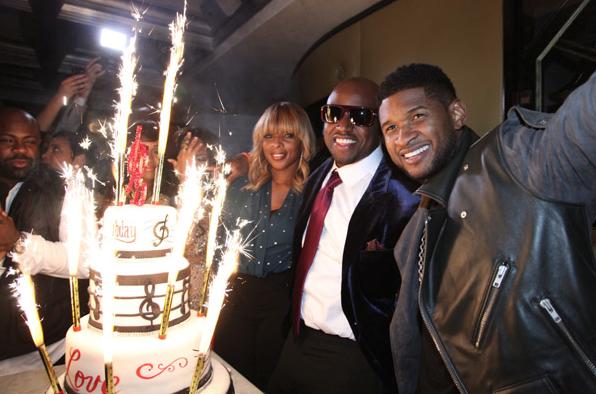 Mary J Blige, Rico Love, Usher