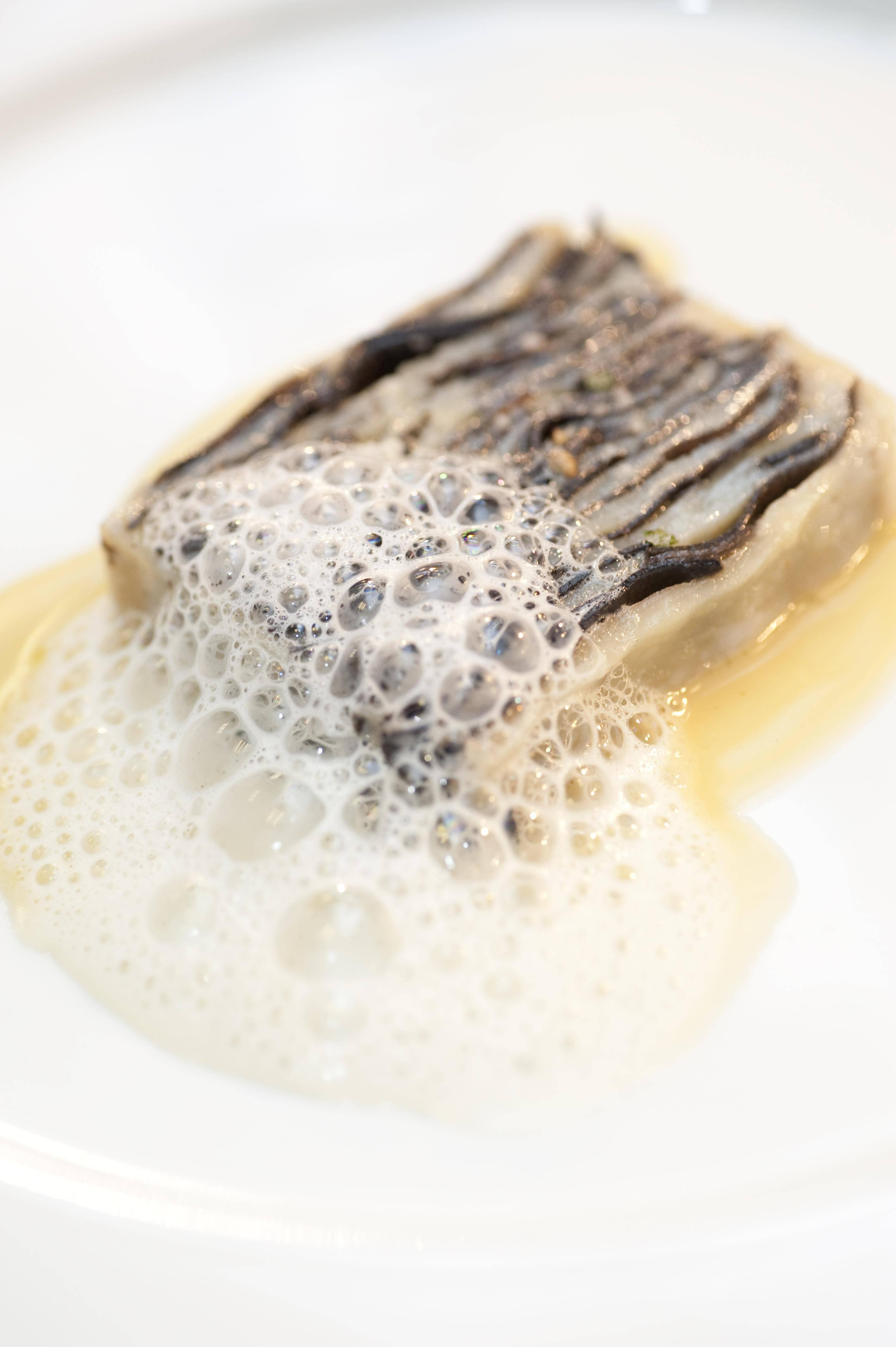 Sea Scallops Terrine with Black Truffle…Ó∫£…»±¥≈˜≈‰∫⁄À…¬∂