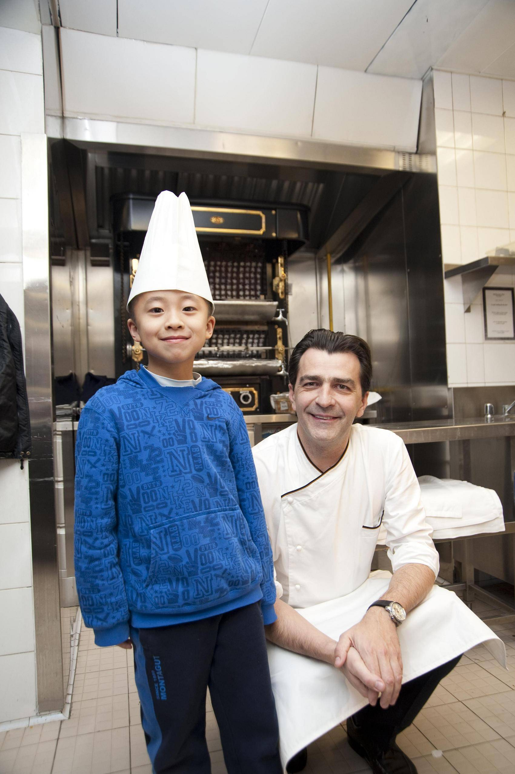 Sky Ho and  Chef Yannick1