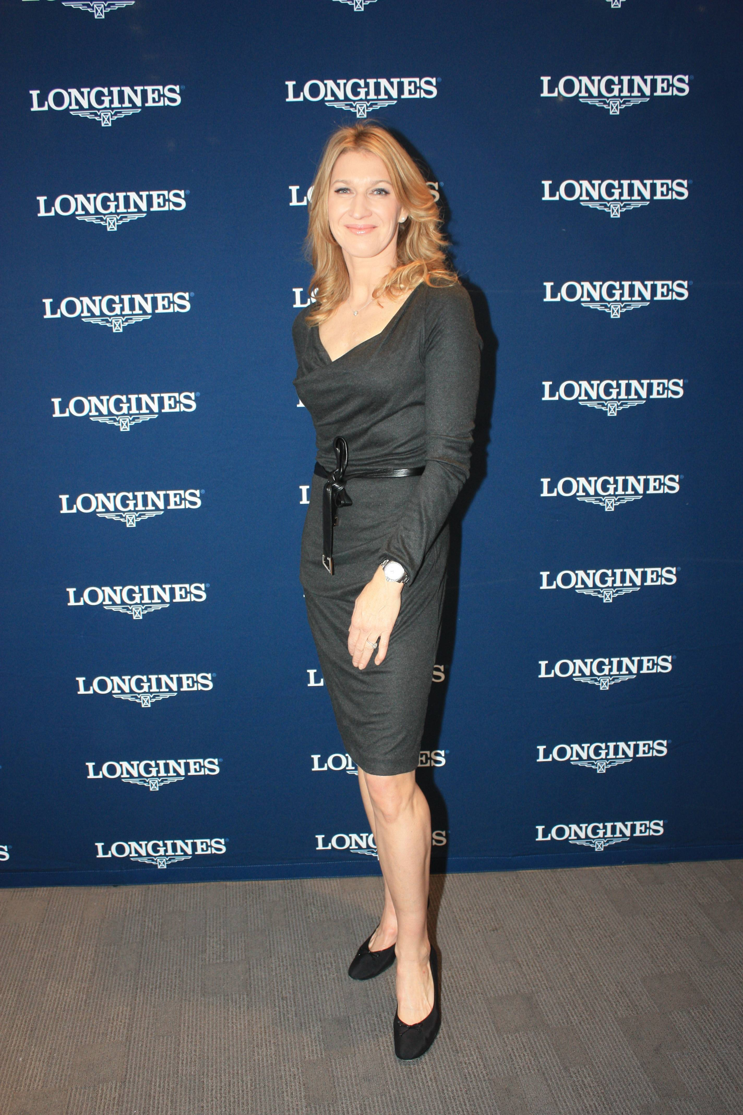 Stefanie Graf at Longines Shop within Tourneau 2
