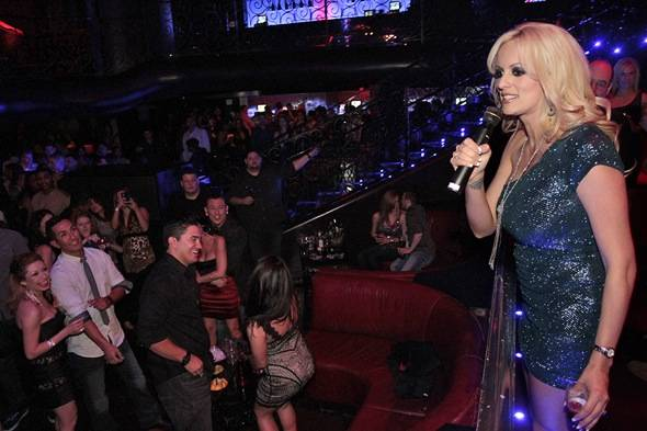 Stormy Daniels_On Mic_LAX