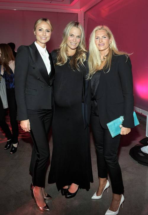 Stacy Keibler, Molly Sims wearing Juicy Couture, President and Chief Creative Officer at Juicy Couture Leann Nealz