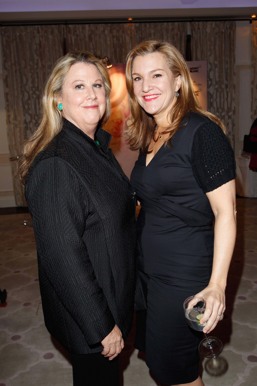 LA Editor of Vanity Fair Wendy Stark-Morrissey and Vanity Fair West Coast editor Krista Smith