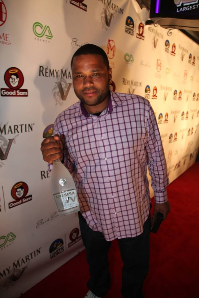 ANTHONY ANDERSON at the REMY  MARTIN V All Star Kickoff Event with Dwyane Wade