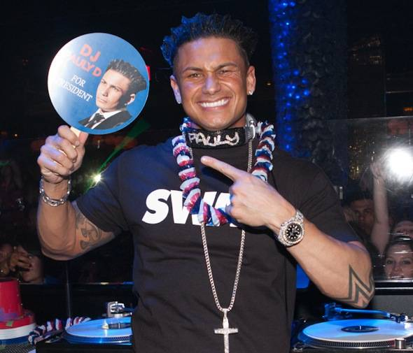 DJ Pauly D for president - credit Cassi Thomas