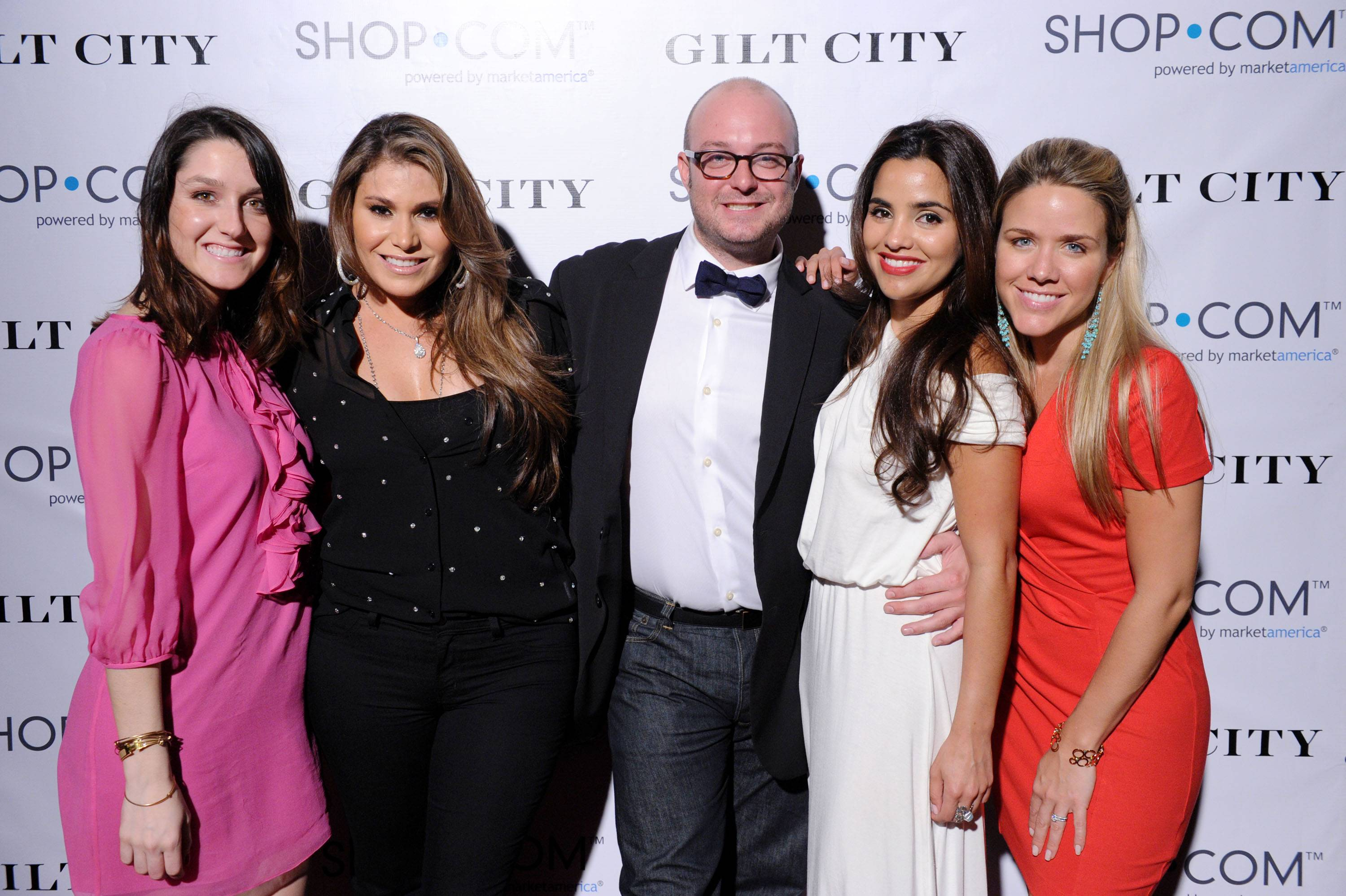 Guests on the step and repeat