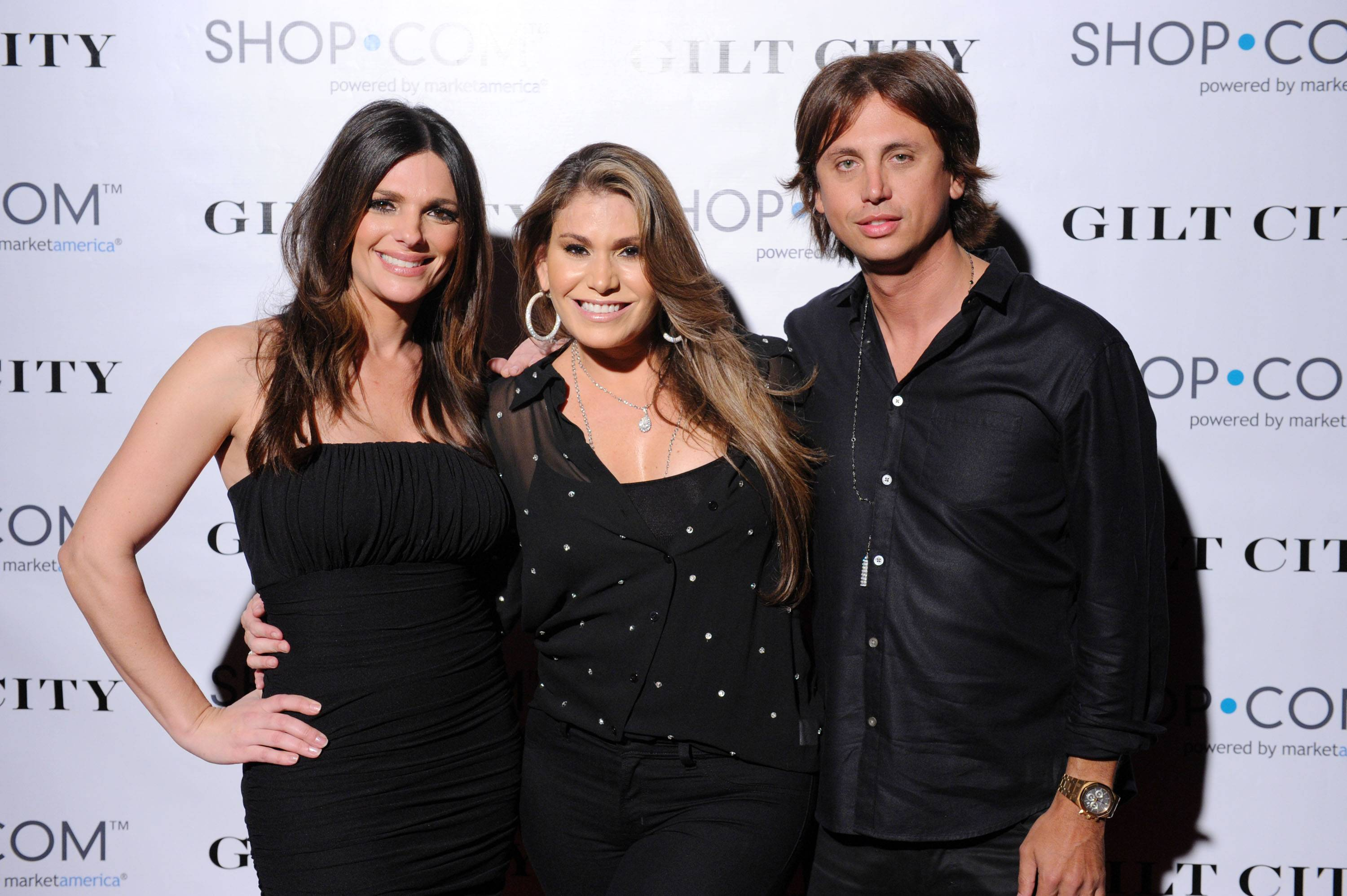 Barbara Bermudez, Loren Ridinger and Jonathan Cheban