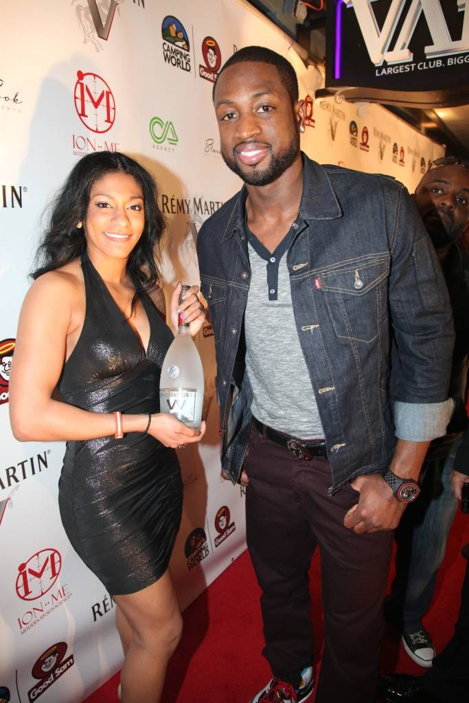 DWYANE WADE and REMY MARTIN V  host the NBA All Star Kickoff Party