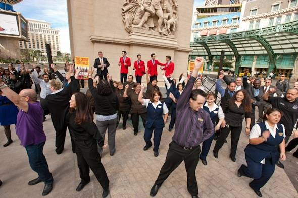 Flash Mob Credit Erik Kabik