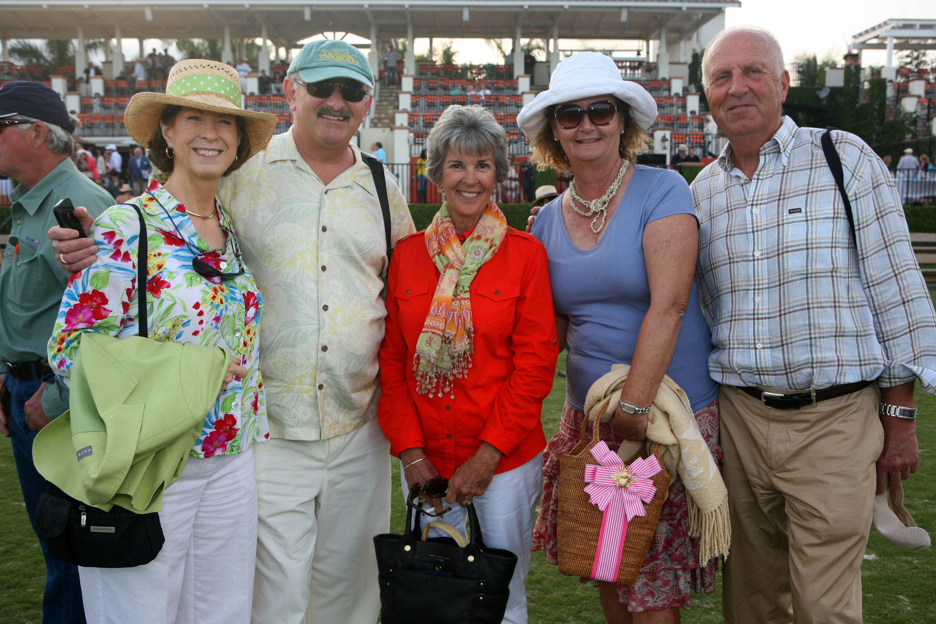 Gigi Langer, Peter Langer, Marcia Smith, Mary Grace York & Tom York