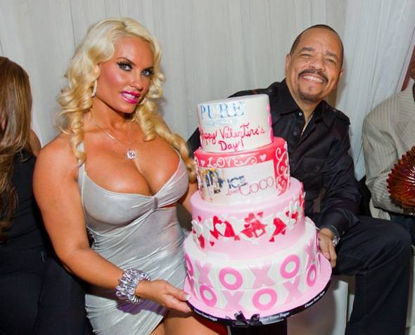 Ice T and Coco_PURE VDay Cake