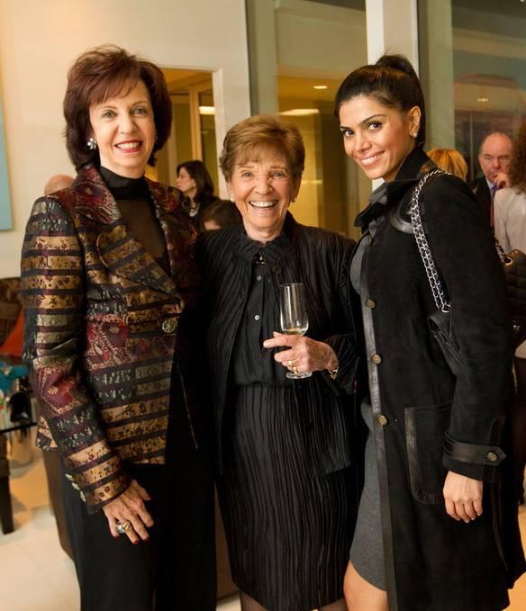 L-R Vicki Reynolds-Pepper, Judy Zeidler, Sheila Shah