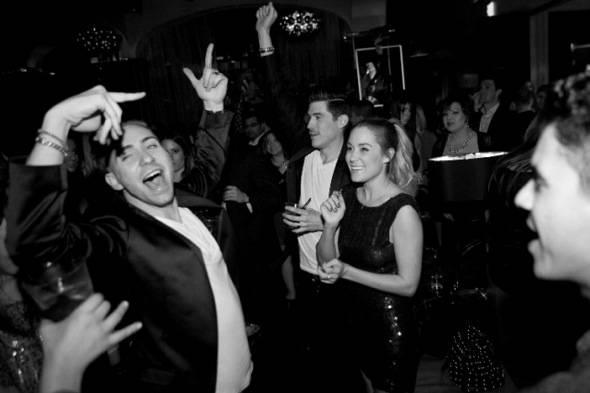 Lauren Conrad parties with friends at Hyde Bellagio, Las Vegas, 2.10.12