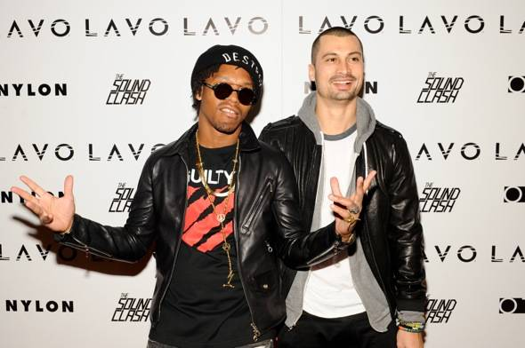 Dj Lupe Fiasco and Dj Sky Gellatly