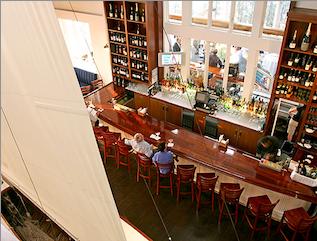 Top 5 steakhouses in the hamptons haute living for Living room restaurant east hampton