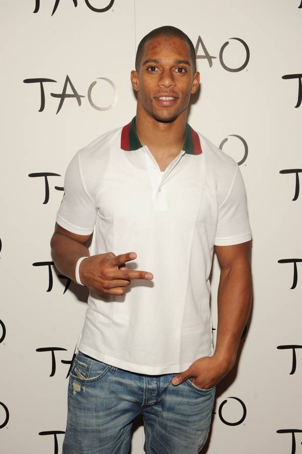 NY Giant Victor Cruz_TAO Red Carpet
