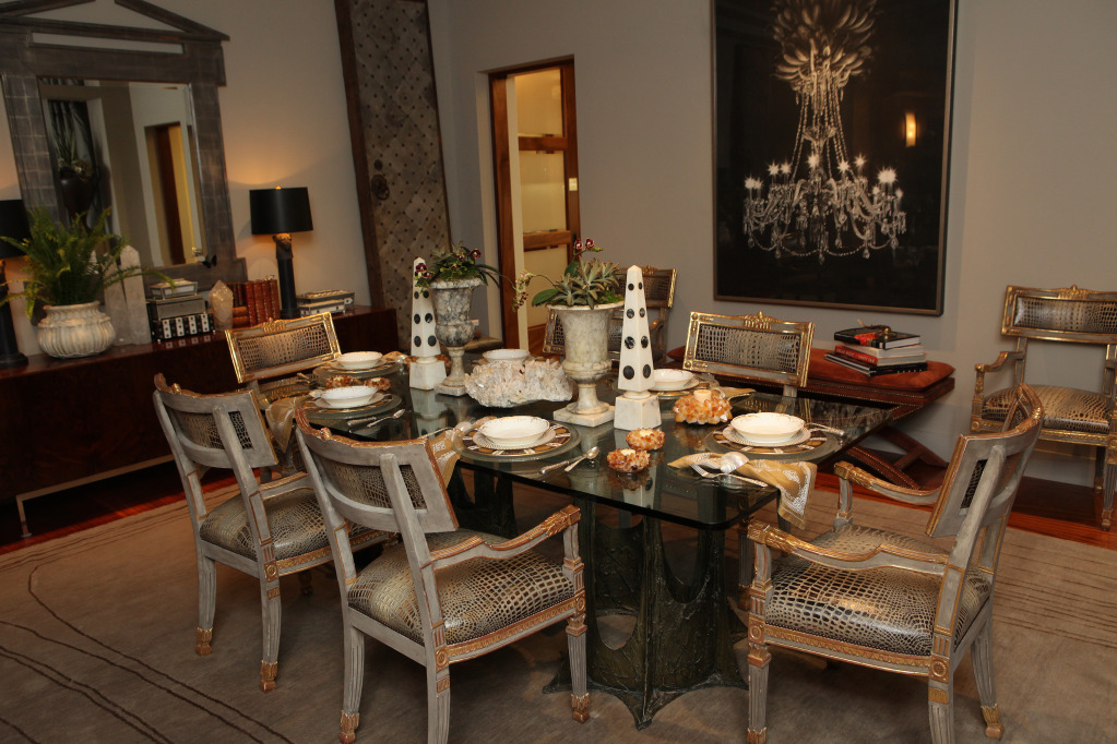 Photo Courtesy of Ed Smith, Dining Room, Designer Candace Barnes