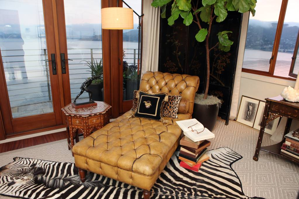 Photo Courtesy of Ed Smith, Guest Suite, Designer Cecilie Starin