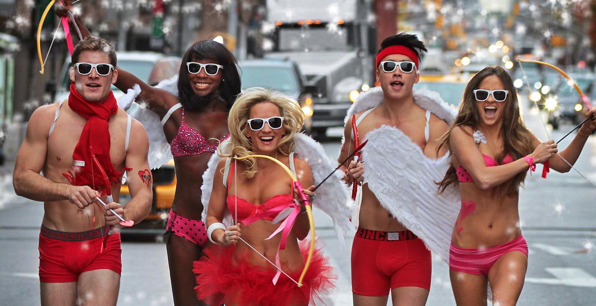 Cupid's Undie Run NYC