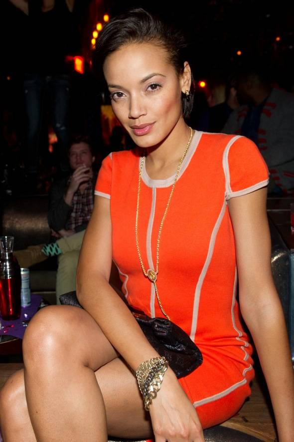 Selita Ebanks at Marquee