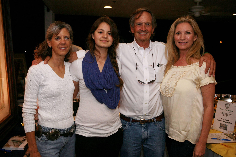 Shelley Heatley, Lindsay Heatley, Phil Heatley, & Phyllis Noble