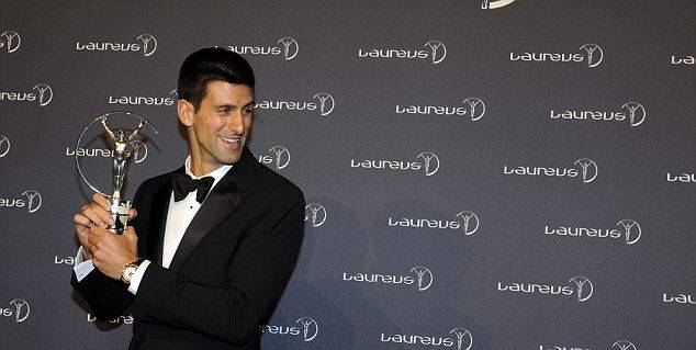 BRITAIN LAUREUS SPORTS AWARD