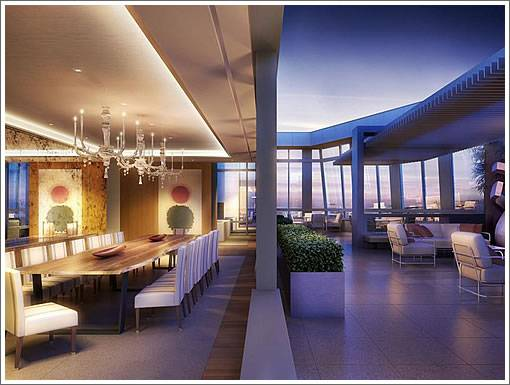 St. Regis Penthouse - Dining&Deck