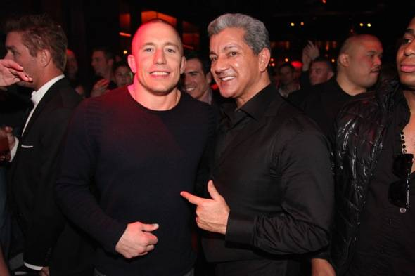 Tryst - Georges St-pierre and Bruce Buffer