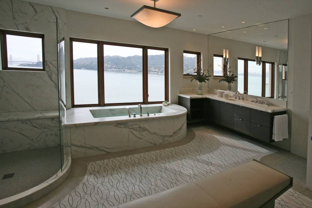 photo courtesy of Elliot Karlan, Master Bathroom