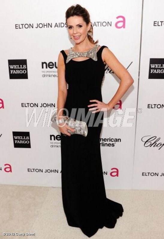 Attending the Elton John AIDS Foundation Academy Awards viewing  > party in Georges Hobeika, Alberto Parada and Avakian