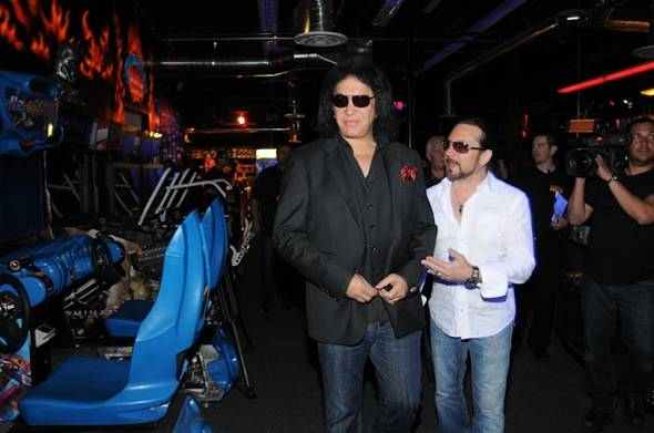 Gene Simmons and Eric Singer