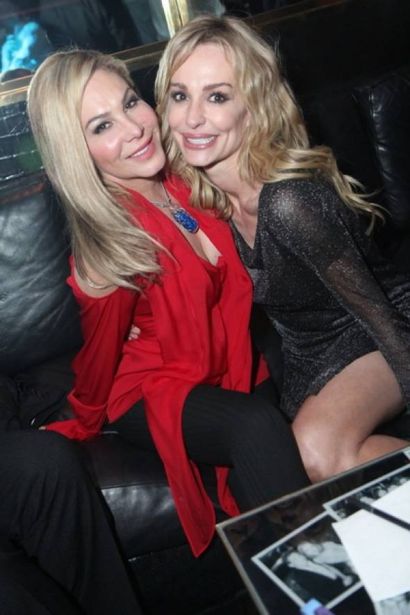 Adrienne Maloof and Taylor Armstrong